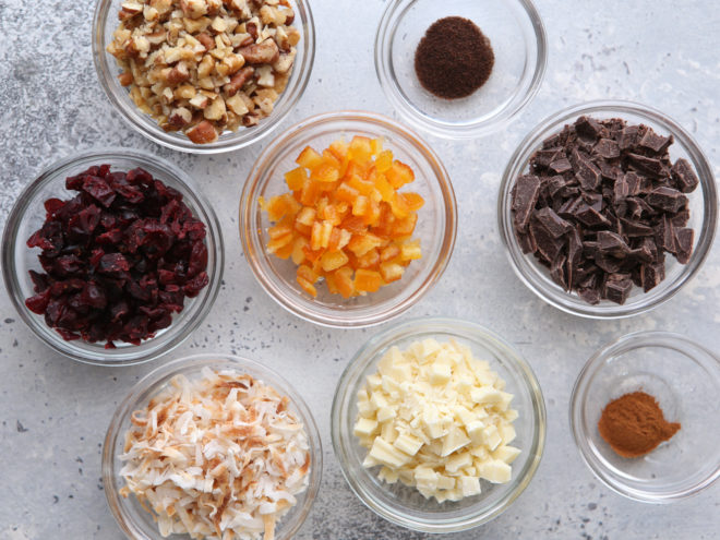 shortbread cookie mixins