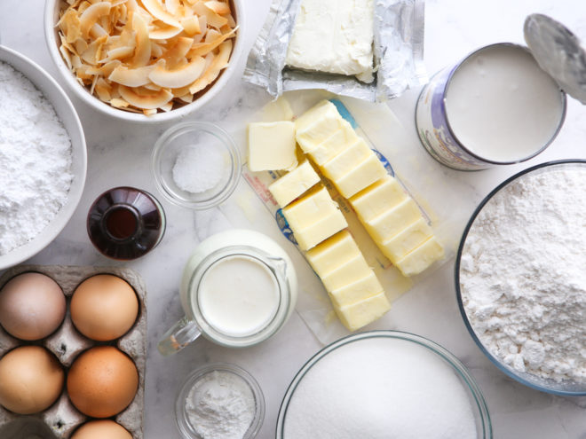 southern coconut cake ingredients